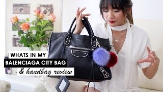 WHATS IN MY BAG | BALENCIAGA WEAR & TEAR
