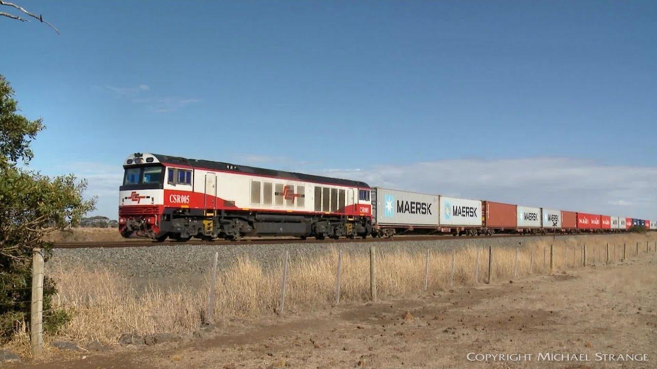 7922V SCT/SBR Intermodal Containers - PoathTV Australian Freight Trains &  Railways