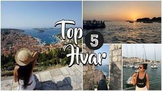 TOP 5 HVAR - MUST DO when in HVAR Croatia ♥ SOFIA 360