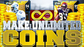 MAKE UNLIMITED COINS IN MADDEN 20!! | NEW #1 COIN MAKING METHOD TO MAKE FAST AND EASY COINS!!
