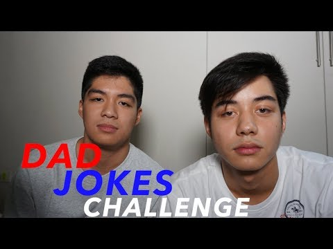 Dad Jokes Challenge (Try Not to Laugh):Tagalog vs English with Andre Lagdameo | DAVID SAMSON