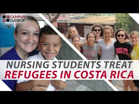 Nursing Students Host Refugee Clinic in Costa Rica | Campus Closeup Ep. 30