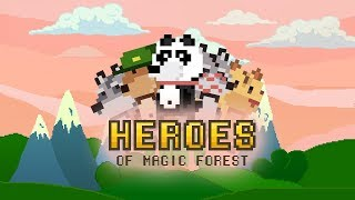 Heroes of Magic Forest (HoMF) - Official Release Trailer (Android)