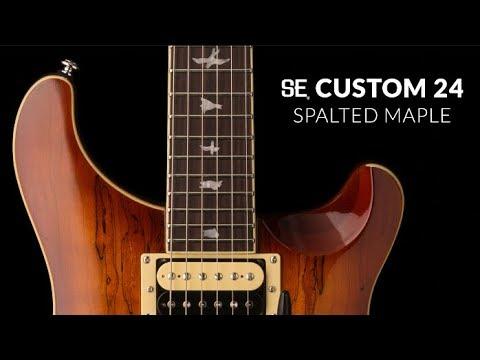 The SE Custom 24 Spalted Maple   PRS Guitars