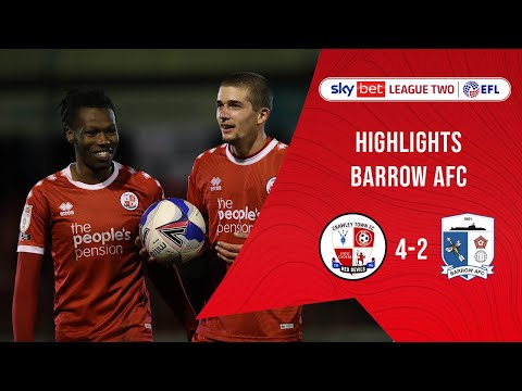 Crawley Town Barrow Goals And Highlights