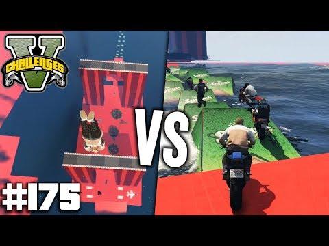 ZIEGEN vs MÖWEN - Lusor Funmodus | GTA 5 Challenges