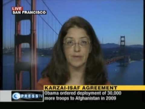 Gloria La Riva on Afghanistan