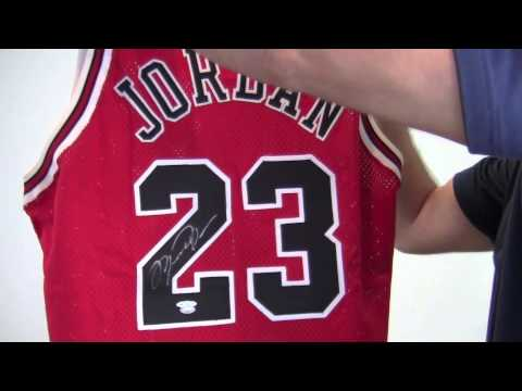 fgqjvf Michael Jordan Signed Authentic Jersey - Limited Edition 1/50