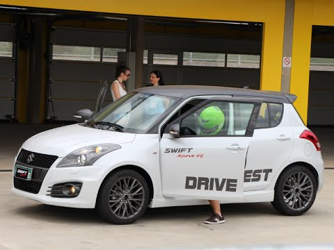 suzuki swift sport r drive test racing velo citta brazil. Black Bedroom Furniture Sets. Home Design Ideas