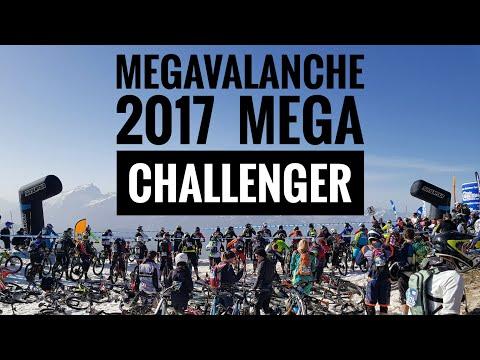 MEGAVALANCHE 2017 Alpe d'Huez MEGA CHALLENGER | 4K