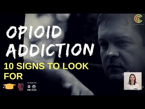 Opioid Addiction: 10 Signs to Look For Epidemic in America