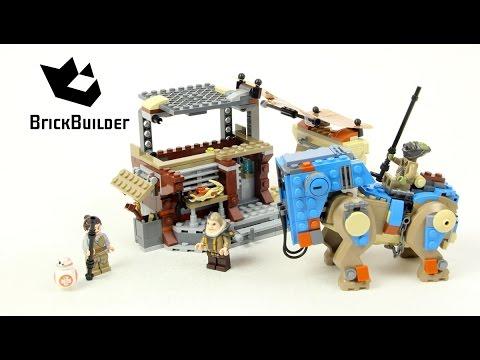 Lego Star Wars 75148 Encounter on Jakku - Lego Speed Build