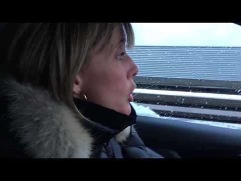 Hub Culture Davos 2017 - Edie Lush drives the Nissan Qashqai from Zurich to Davos