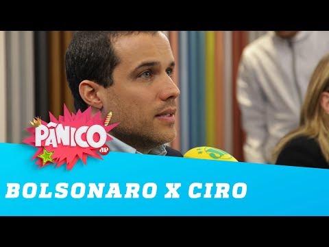 Bolsonaro x Ciro será divertido, brinca Felipe Moura