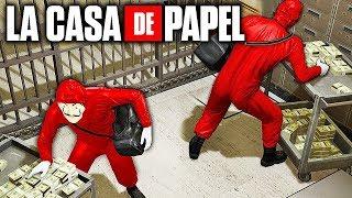 LA CASA DE PAPEL no GTA !!