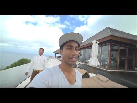 Aaron's blown away by his luxury Villa at The Edge, Bali //