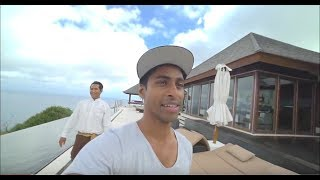 Aaron's blown away by his luxury Villa at The Edge, Bali // FULL TOUR