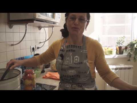 Маринованные помидоры с чесноком и горчицей