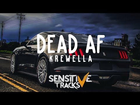 Krewella - dead af (Lyric Video / Lyrics)