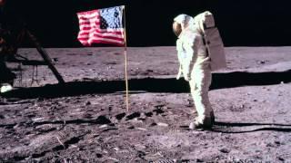 The original NASA moon landing photos - animated