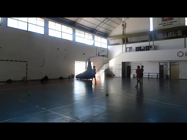 Campus de básquet en Universidad Nacional de San Juan
