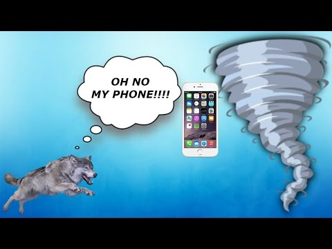 I Chase My Phone Into A Tornado!!! Asleep 2 Minecraft Map Part 2
