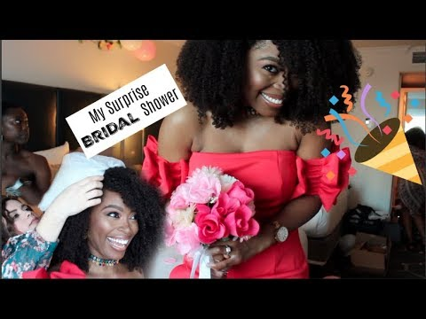 My Surprise Bridal Shower! They Got Me Good!!: Journey to I do