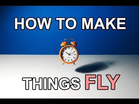 Stop Motion Tutorial. How To Make Things FLY!