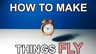 Stop Motion Tutorial How to make things FLY
