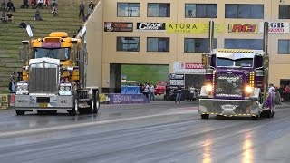 TRUCK DRAG RACING AT SUPERNATS 2015
