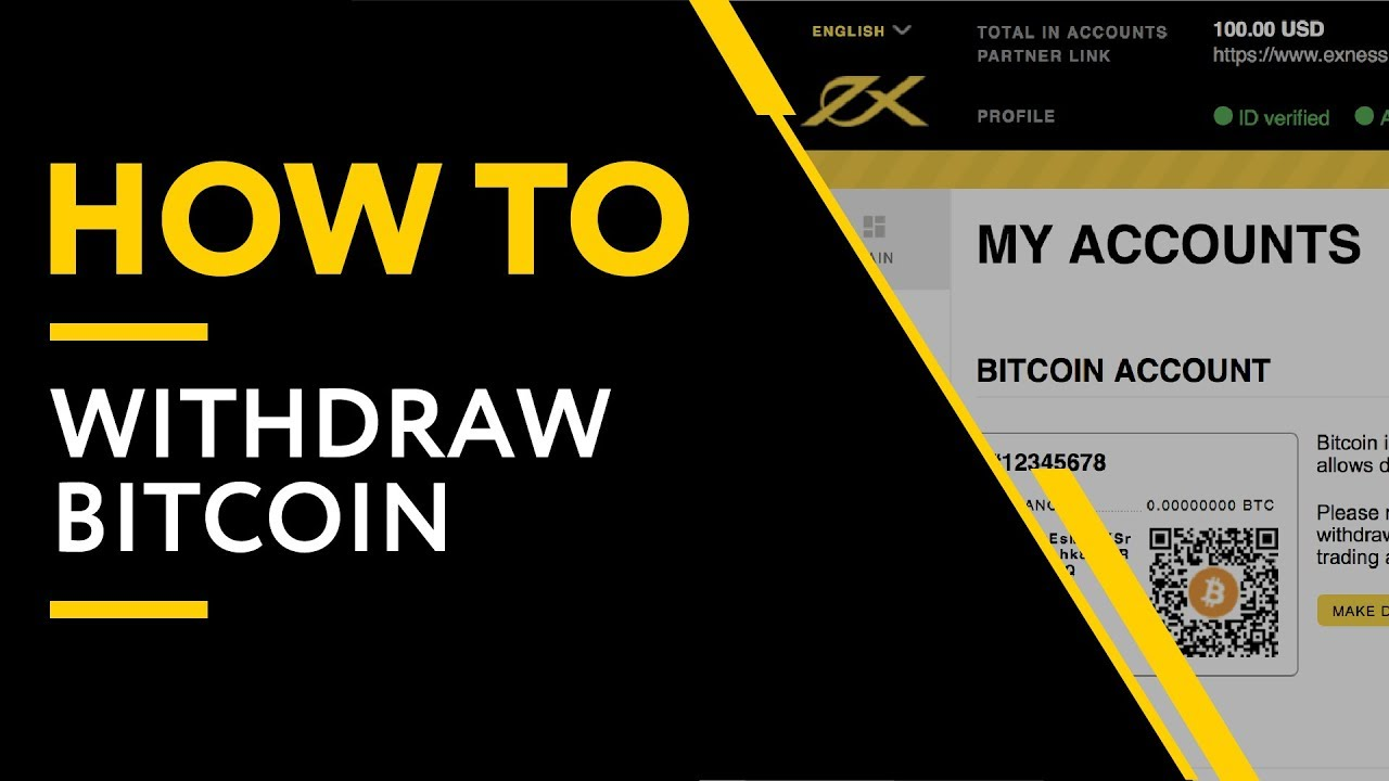 can you withdraw bitcoin