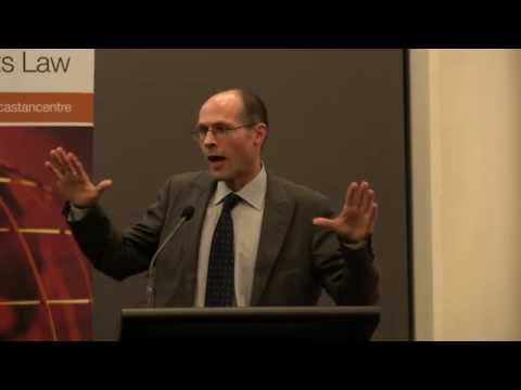Towards a New Treaty on Business and Human Rights (presented by Oliver DeSchutter)
