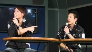 2010/12/12、千葉ポートタワーで行われた岡田幸文、香月良仁のトークシ...
