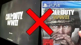 EARLY Copies For Call Of Duty: WWII Are NOT WORKING..