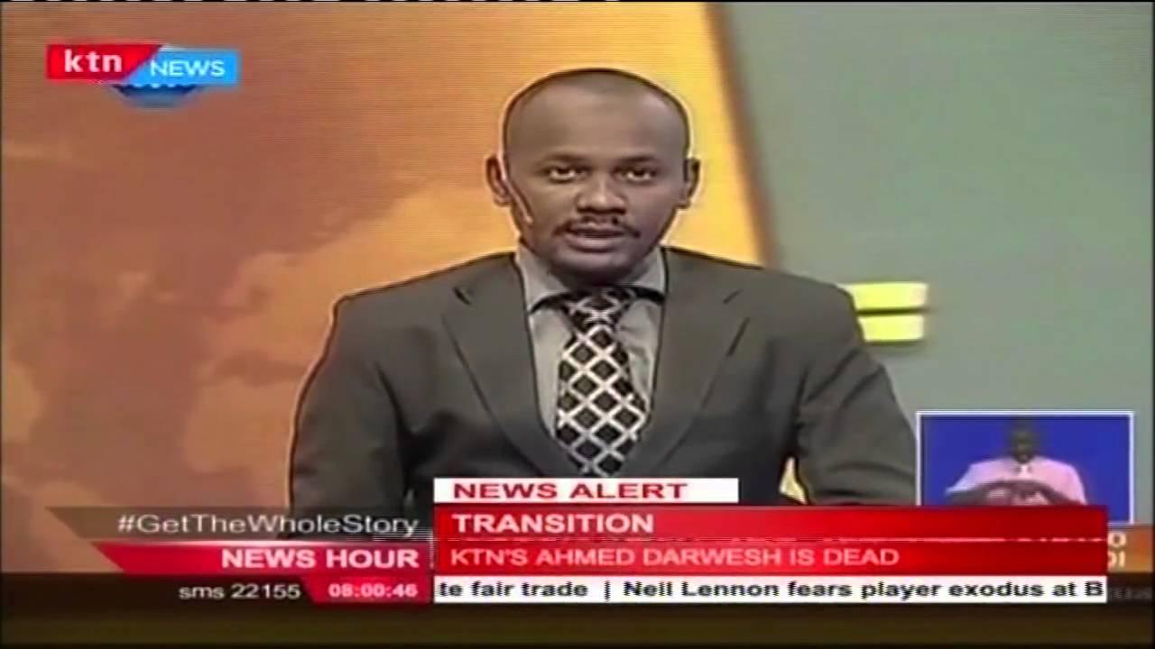 Veteran Ktn Swahili News Anchor Ahmed Darwesh Passes On