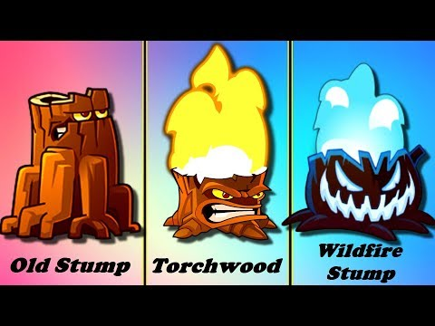 Evolution Of Plants In The Game Plants Vs Zombies: All Stars (Plantas Contra Zombies)