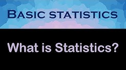 Chapter 1.1: What is Statistics? Healthcare Perspective