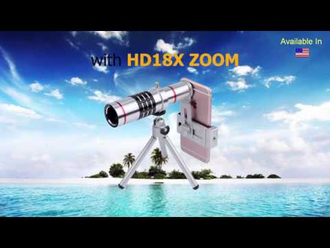 How To Easily Turn Your Smartphone Camera into Professional Image Quality | HDZoom18X United States