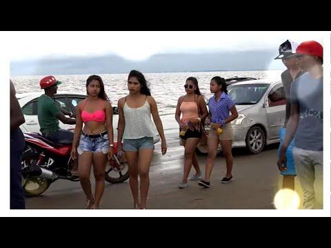 63 BEACH--2017.  APRIL   HOLIDAYS- GUYANA