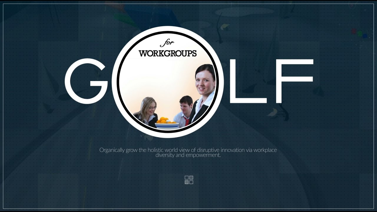 golf for workgroups video presentation youtube. Black Bedroom Furniture Sets. Home Design Ideas
