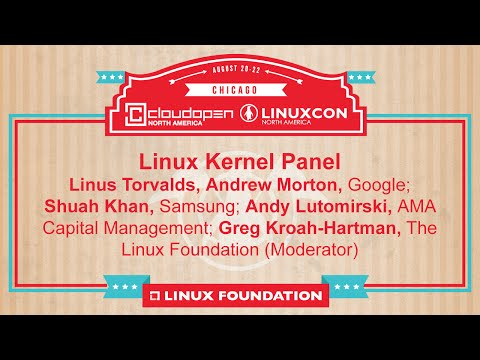 Linux Kernel Developer Panel | LinuxCon + CloudOpen North America 2014