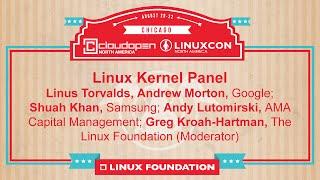 Linux Kernel Developer Panel | LinuxCon + CloudOpen North America 2014