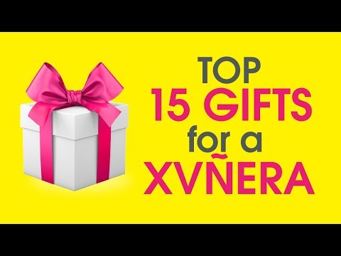Top 15 Gifts for a Quinceanera - YouTube
