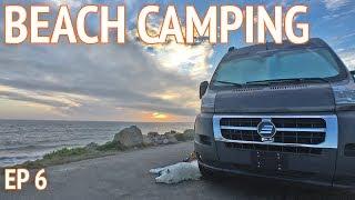 Tiny Beach Home on Wheels   Camper Van Life S1:E6
