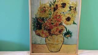 Алмазная живопись -  Ван Гог