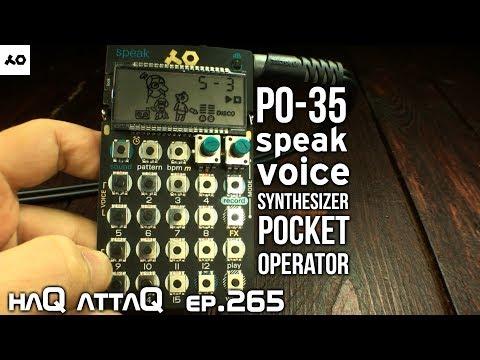 PO-35 speak EVERYTHING you NEED to know │ haQ attaQ