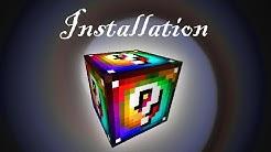 Installing Spiral Lucky Blocks for 1.7.10