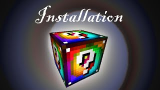 Installing Spiral Lucky Blocks for 1.7.10