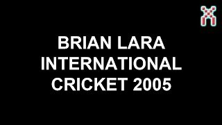 Brain Lara International Cricket 2005: Official Video Game Trailer (PC, PS2, Xbox)