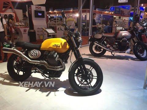 [XEHAY.VN] Piaggio VN giới thiệu Moto Guzzi và Aprilia